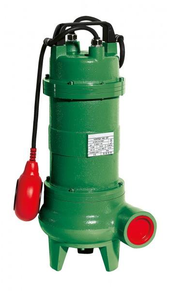 VORTEX 200, 2850 min-1, 230 V Schmutzwassertauchpumpe mit Schwimmerschalter