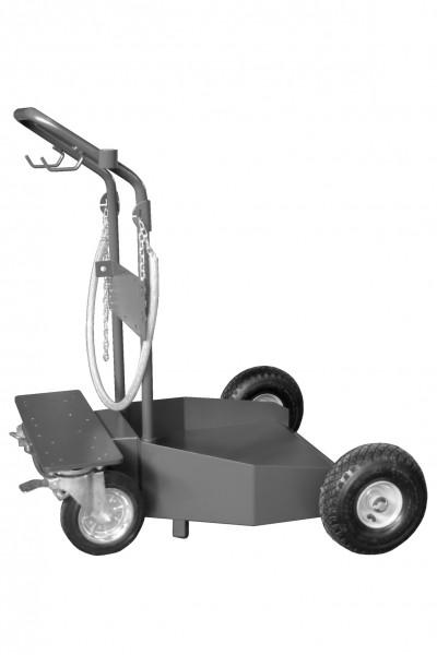 Fahrwagen bis 200 l-Fässer mit 4 Rädern