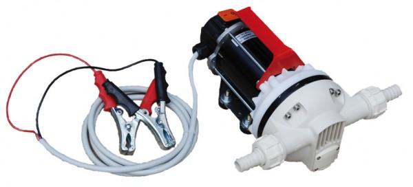 Membranpumpe für Harnstoff (AUS 32, AdBlue), 24 V mit Ein/Aus-Schalter, 2 m Kabel mit Klemmen