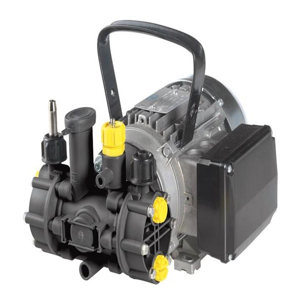 Membranpumpen mit Elektromotor und Verbrennungsmotor