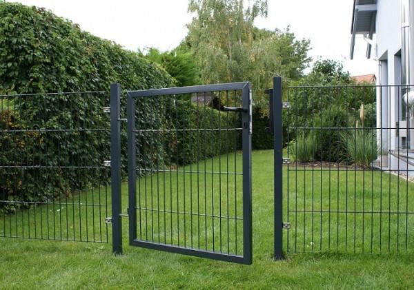 Tore für Einstabmattenzaun 2-flügelig