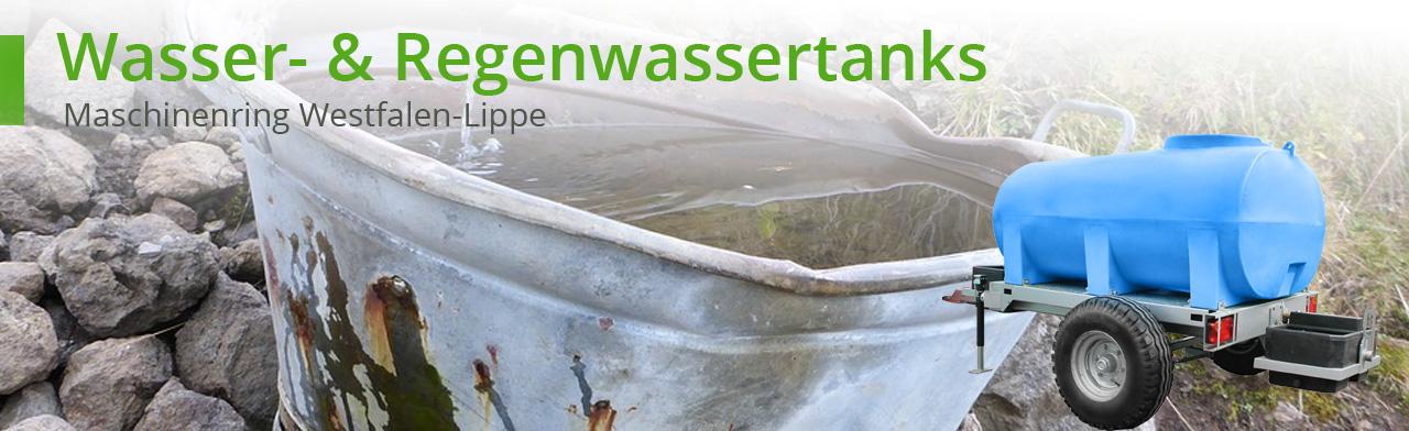 wasser-und regenwassertanks