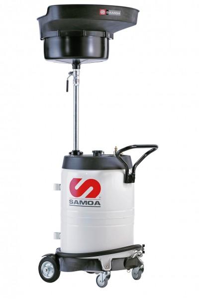 Altölsammelwagen mit Druckluftentleerung