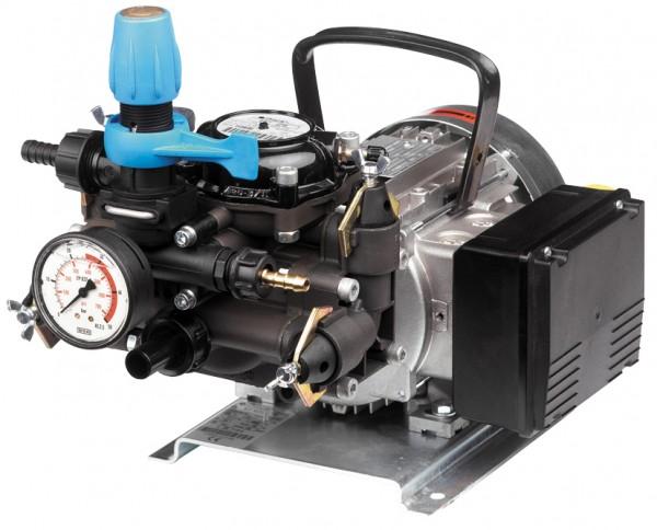 MC 25 Membranpumpe , 230 V mit Elektromotor, Kabel und Stecker