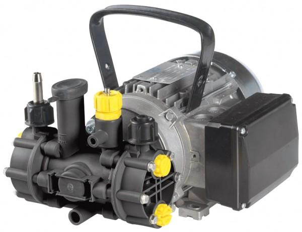 MC 8 Membranpumpe , 230 V mit Elektromotor, Kabel und Stecker