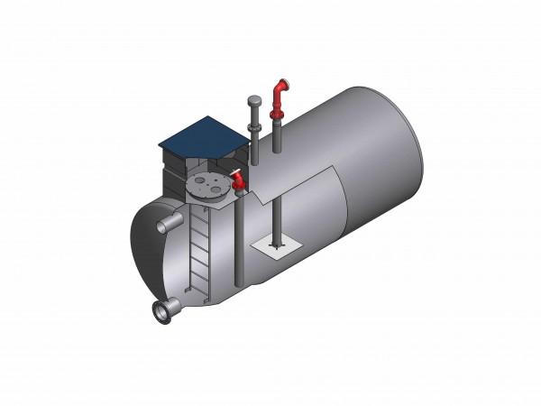 Löschwasserbehälter aus Stahl